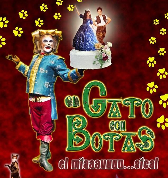 EL GATO CON BOTAS en el Teatro Príncipe Gran Vía