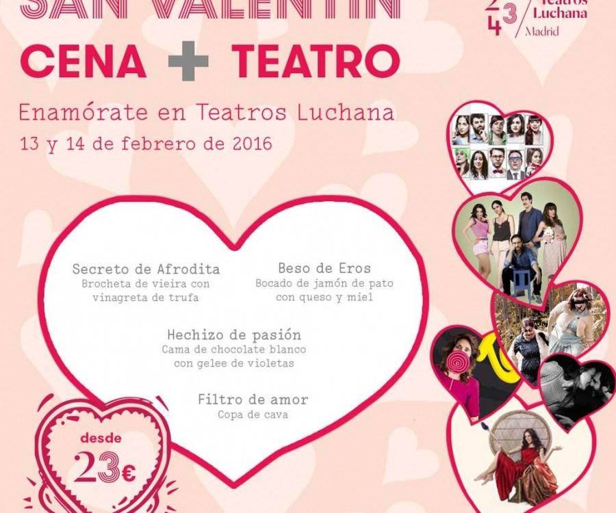 Programación especial de San Valentin en los Teatros Luchana