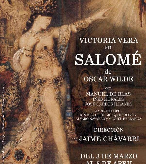 SALOMÉ de Oscar Wilde en el Teatro Fernán Gómez