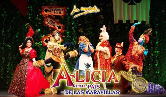 Alicia en el Pais de las Maravillas, el musical