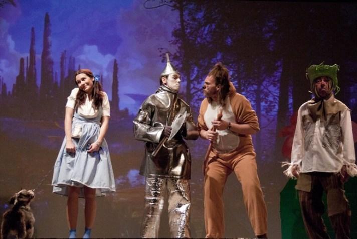 El mago de Oz en Teseo Teatro