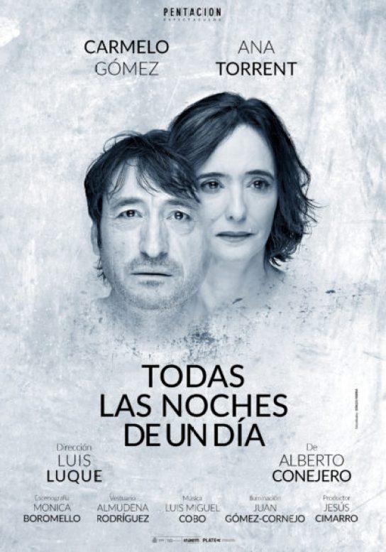 TODAS LAS NOCHES DE UN DÍA de Alberto Conejero