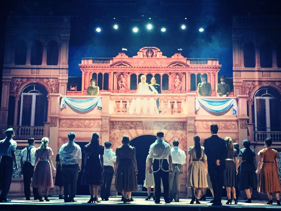 EVITA en el Teatro Nuevo Alcalá