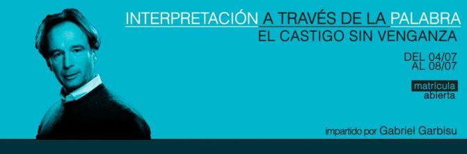 INTERPRETACIÓN A TRAVÉS DE LA PALABRA. EL CASTIGO SIN VENGANZA