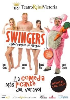 SWINGERS en el Teatro Reina Victoria