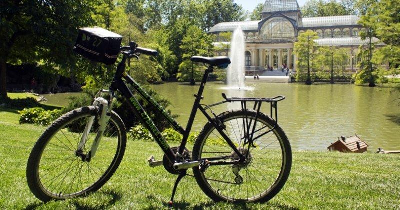 Rutas por Madrid autoguiadas en bicicleta