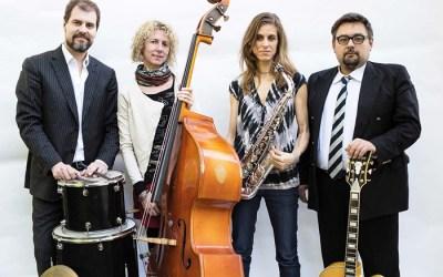 Te invitamos a ver a MURIEL Grossmann Quartet, JAZZ EN LA TERRAZA DEL GALILEO (cerrado)