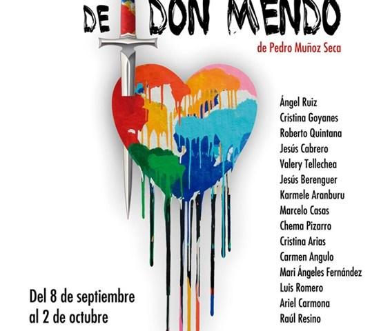 LA VENGANZA DE DON MENDO en el Teatro Fernán Gómez