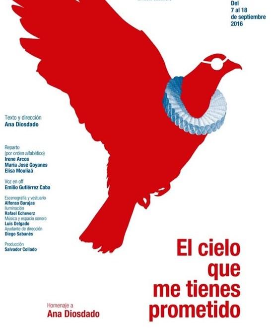 EL CIELO QUE ME TIENES PROMETIDO en el Teatro María Guerrero