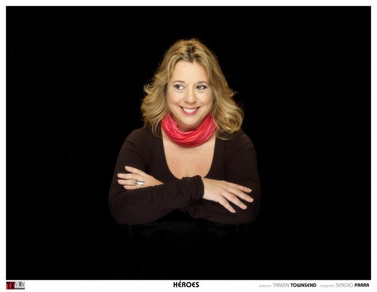 TAMZIN TOWNSEND, directora de Héroes