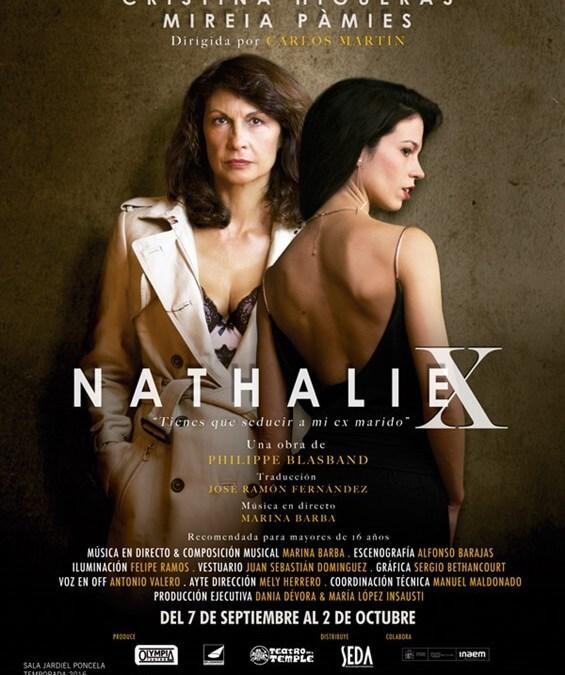 NATHALIE X de Philippe Blasonad, en el Teatro Fernán Gómez