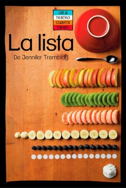 LA LISTA de Jennifer Tremblay en la Cuarta Pared - Madrid Es Teatro