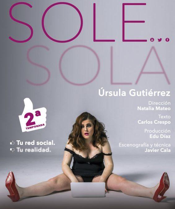 Te invitamos a SOLE… SOLA (Cerrado)