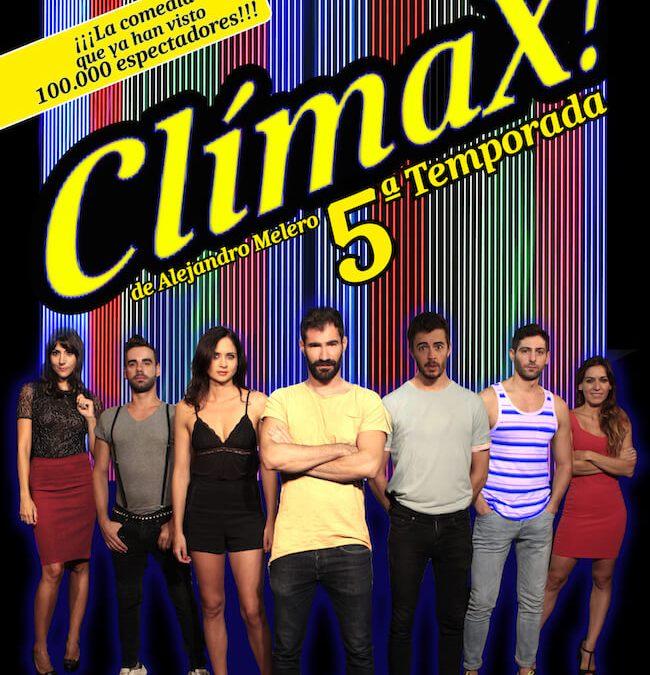 Arranca la 5ª temporada de CLÍMAX! en el Teatro Alfil