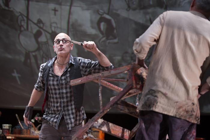 EL PINTOR DE BATALLAS de Arturo Pérez-Reverte en los Teatros del Canal