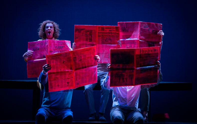 ZENIT de Joglars en el Teatro María Guerrero