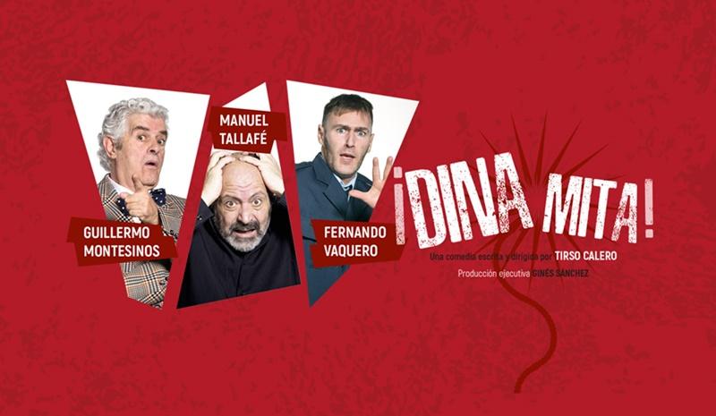 DINAMITA de Tirso Calero en los Teatros Luchana