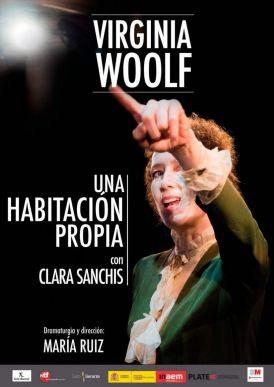 UNA HABITACIÓN PROPIA de Virginia Woolf en el Teatro Galileo