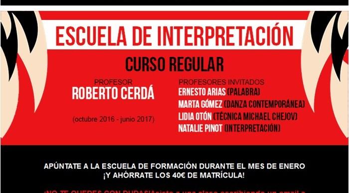 Escuela de Interpretación en Teatro del Barrio