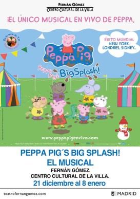 PEPPA PIG BIG SPLASH en el Teatro Fernán Gómez