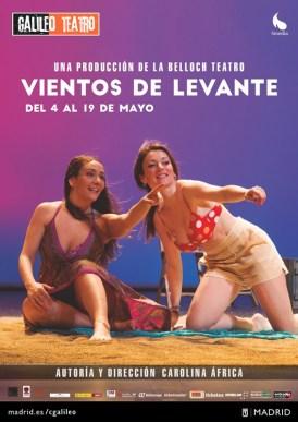 VIENTOS DE LEVANTE en el Teatro Galileo