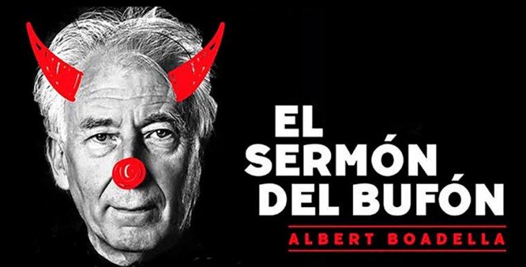 EL SERMÓN DEL BUFÓN de Albert Boadella