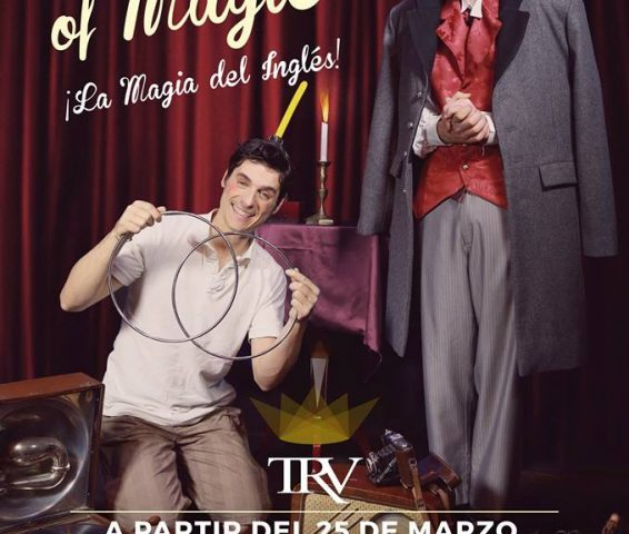 THE SPIRIT OF MAGIC en el Teatro Reina Victoria