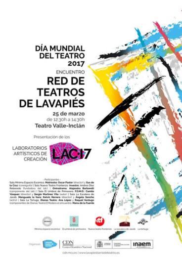 ENCUENTRO LAC 2017- II EDICIÓN LABORATORIOS ARTÍSTICOS DE CREACIÓN