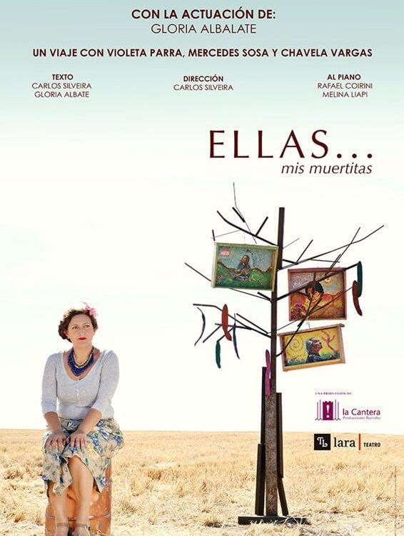 ELLAS... MIS MUERTITAS en el Teatro Lara
