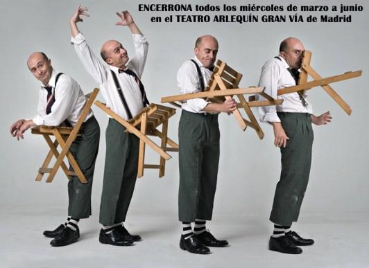 ENCERRONA con Pepe Viyuela en el Teatro Arlequín Gran Vía