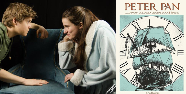 PETER PAN de Contraseña Teatro en el Teatro Lagrada