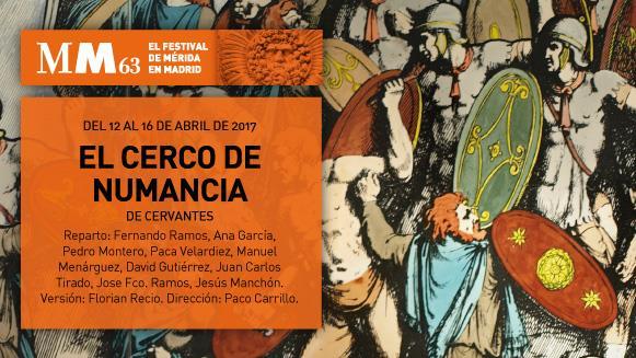 Festival de Mérida en Madrid: el cerco de Numancia