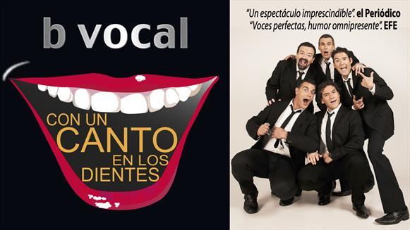 CON UN CANTO EN LOS DIENTES, B VOCAL, en el Teatro Bellas Artes