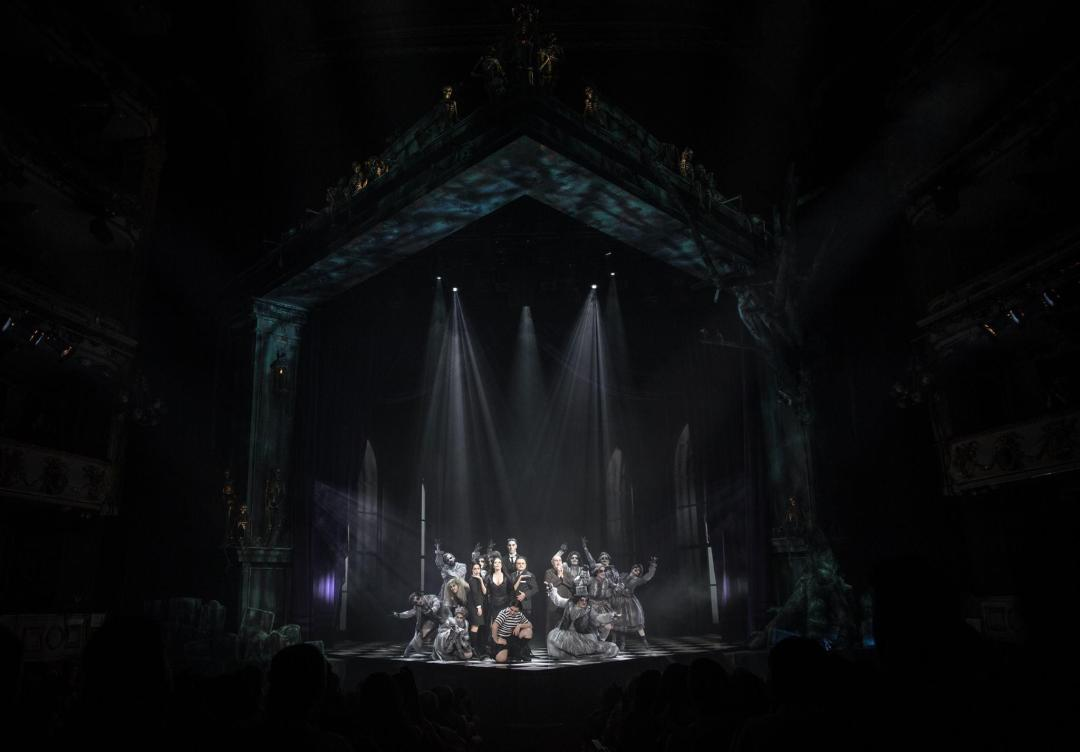 LA FAMILIA ADDAMS el Musical en el Teatro Calderón