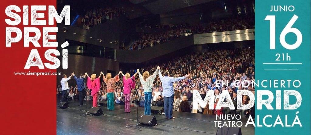 SIEMPRE ASÍ en el Nuevo Teatro Alcalá de Madrid