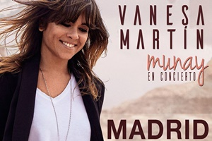 Vanesa Martin en Madrid