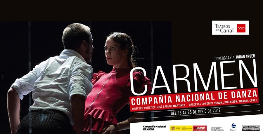 CARMEN de la Compañía Nacional de Danza en los Teatros del Canal