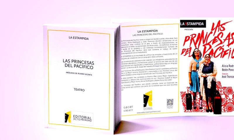 La editorial Acto Primero publica 'LAS PRINCESAS DEL PACÍFICO'
