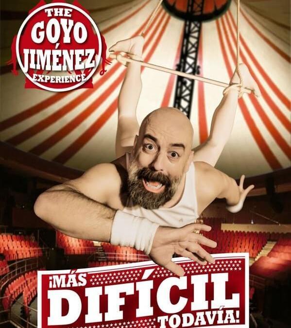 GOYO JIMENEZ – MÁS DIFÍCIL TODAVÍA en Madrid