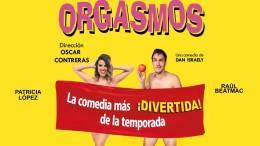 ORGASMOS, la comedia, en el Teatro Infanta Isabel