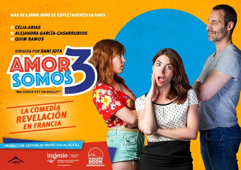 AMOR SOMOS 3 en los Teatros Luchana