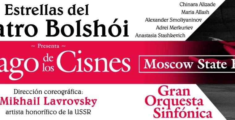 EL LAGO DE LOS CISNES - Estrellas del Teatro Bolshói en el Teatro Coliseum