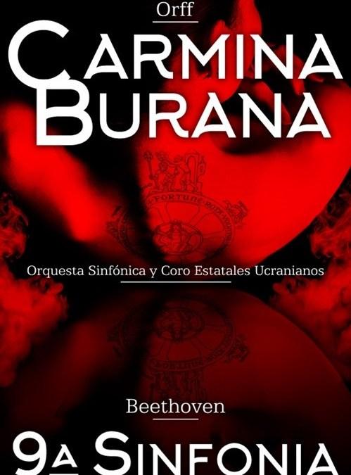 CARMINA BURANA y 9ª SINFONÍA en el Teatro Lope de Vega