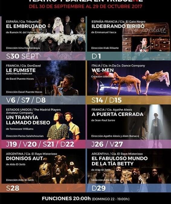 I Festival Internacional de Teatro y Danza en Tribueñe