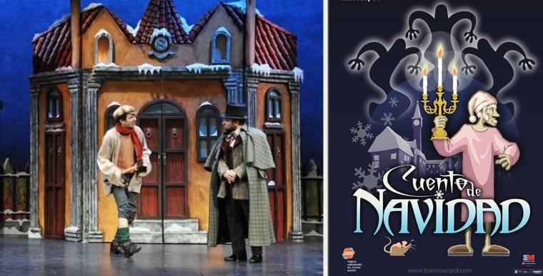 CUENTO DE NAVIDAD en el Teatro Sanpol