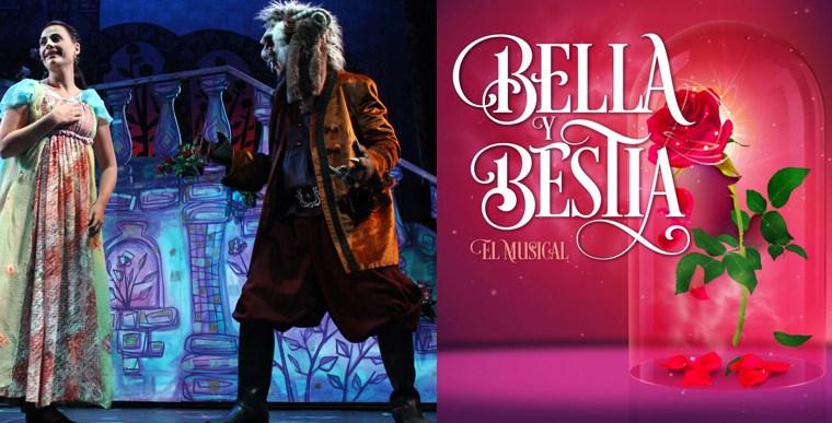 BELLA Y LA BESTIA en el Teatro Maravillas