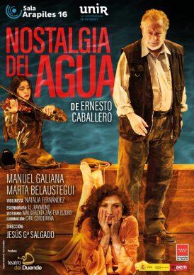 NOSTALGIA DEL AGUA de Ernesto Caballero, en la Sala Arapiles