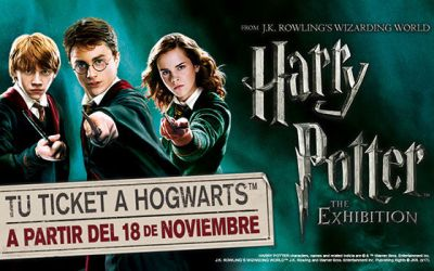 HARRY POTTER the exhibition, en Madrid