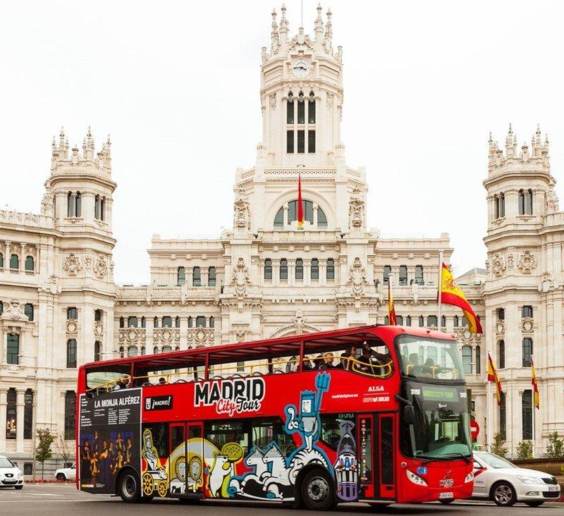 BUS TURÍSTICO DE MADRID