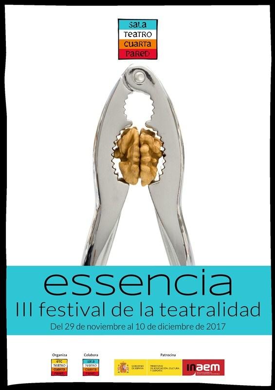 FESTIVAL ESSENCIA 2017 en la Sala Cuarta Pared - Madrid Es Teatro